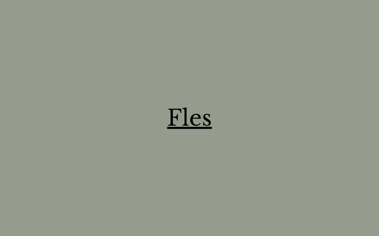 Fles - Cookery